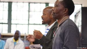Fusi Mofokeng and Tshokolo Mokoeng (Photo: Wits Justice Project)