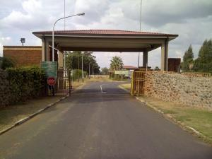 The entrance to Grootvlei prison, from which members of the Organised Crime Unit booked out suspects whom they tortured into confessing.(Photo: Carolyn Rapahely)