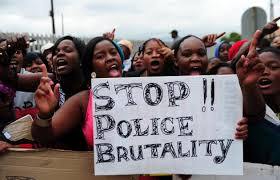 Daveyton residents protest against police brutality earlier this year. (Photo: Muntu Vilakazi for City Press)