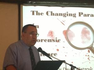 Forensic expert, Dr David Klatzow