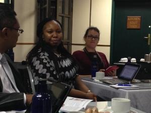 Emelia Siwingwa,  key speaker at the Roundtable