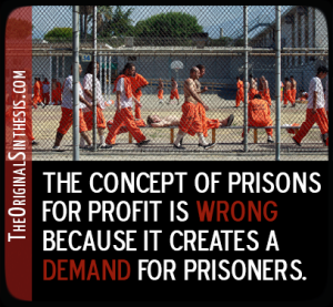 private prisons protest