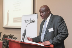 Advocate John Makhubele, Deputy Chief State Law Adviser and Head of the International Relations Unit in the Department of Justice and Constitutional Development