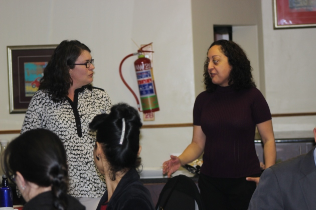 Catherine Moat (Head: Public Safety Programme at Wits School of Governance) and Nooshin Erfani-Ghadimi (Project Coordinator at Wits Justice Project) welcomed those in attendance and introduced the first series of Justice for Breakfast 2015.