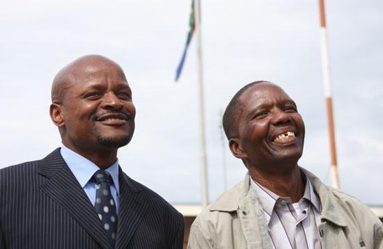 Fusi Mofokeng (left) and Tshokolo Mokoena