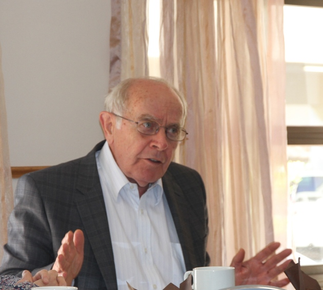 Former Constitutional Court Judge Johann Kriegler and member of the WJP board