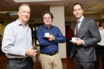 Le Roux Van der Westhuizen of Millenium Trust, Anton Harber of Wits University, and Philippe Strub of the Embassy of Switzerland in SA