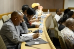 Attendees at the final 2015 JfB roundtable