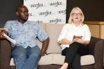 Thembekile Molaudzi and Barbara Holtmann